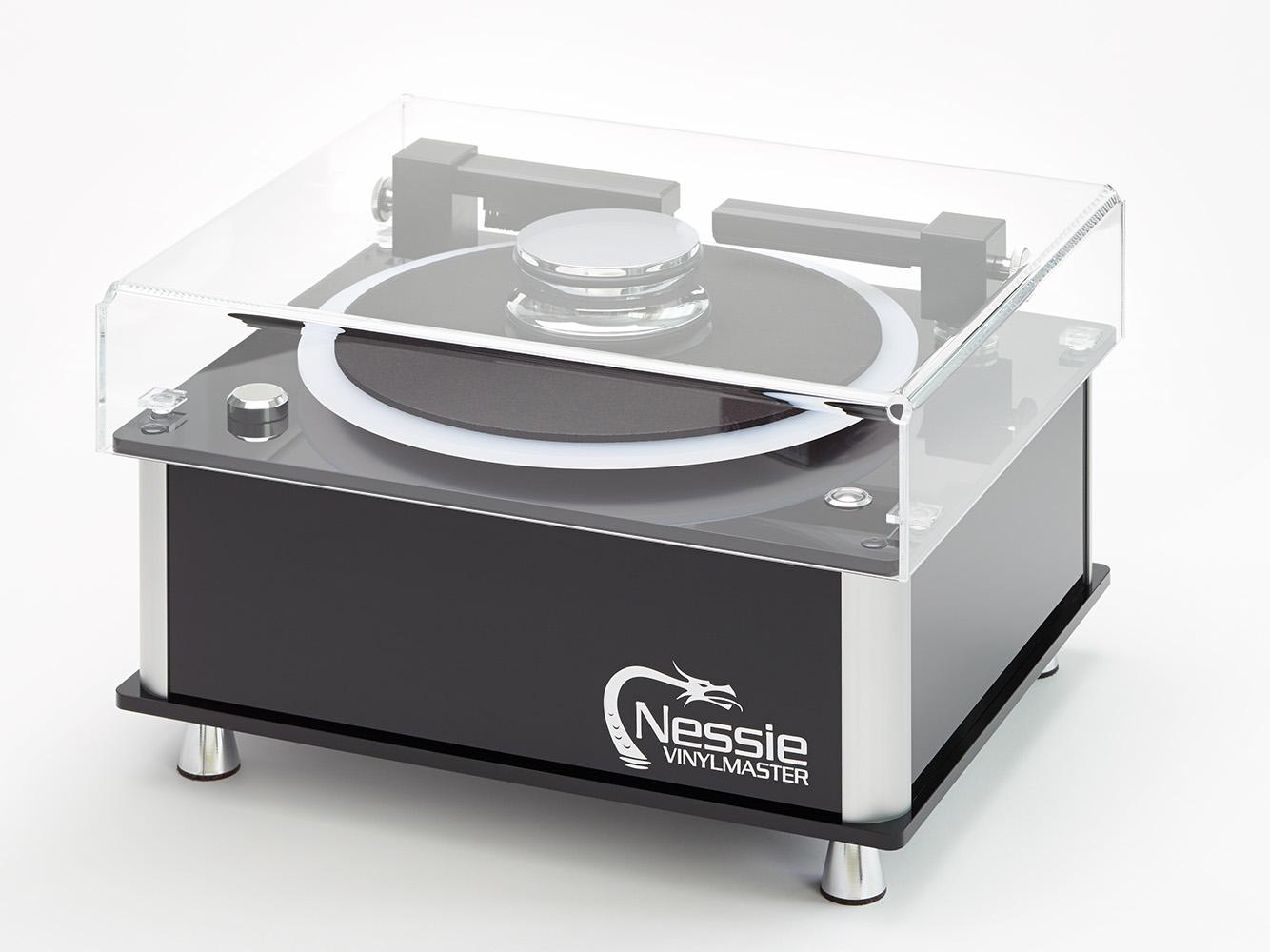 Schallplattenwaschmaschine Nessy von Draabe, Hamburg © Heiner Orth